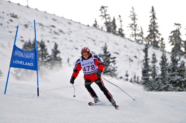 12-9-12 Masters GS at Loveland - Run #1