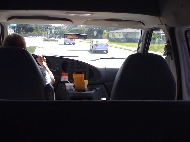 2009 07 24 - Appt with Dr Sparks van ride