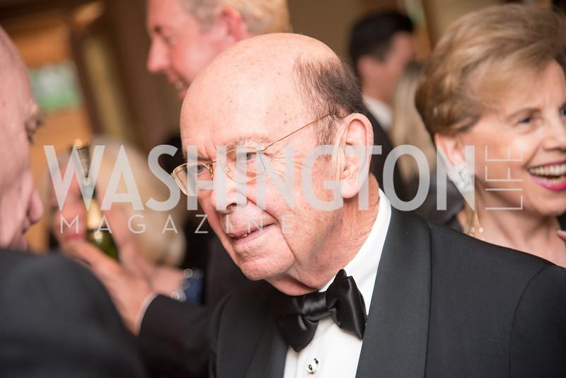 Secretary Wilbur Ross,  Harvard Business School, Leadership Gala, DC, The Four Seasons, June 13, 2018.  Photo by Ben Droz.