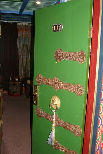 Room, DhoodGu Hotel Lhasa Tibet Qinghai -Beijing to Tibet Railway, Beijing to Lhasa  Oct  2006