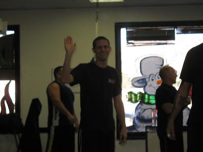 12-20-2008 Krav Maga Orange & Green Belt Test