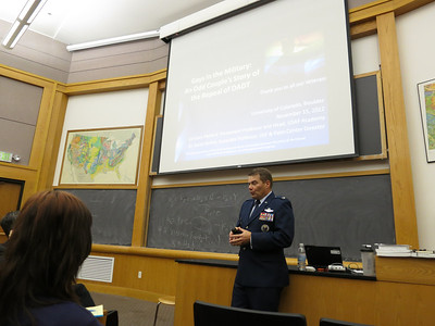 Col Packard and Aaron Belkin at CU/Boulder, 11/15/12