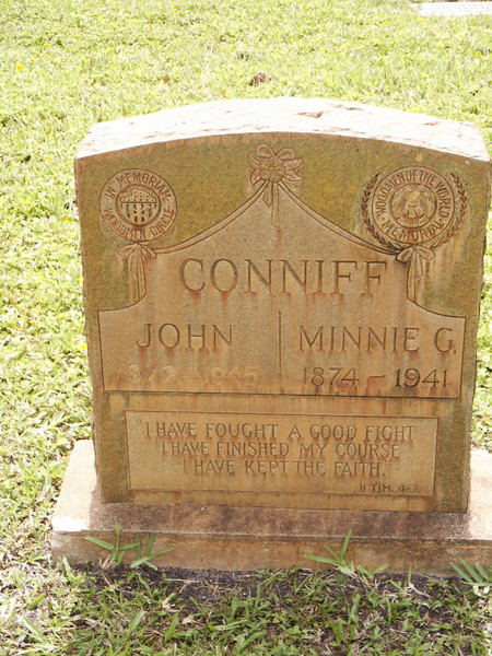 John and Minnie G. Conniff