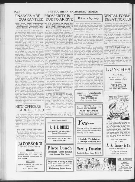 The Southern California Trojan, Vol. 7, No. 34, November 12, 1915