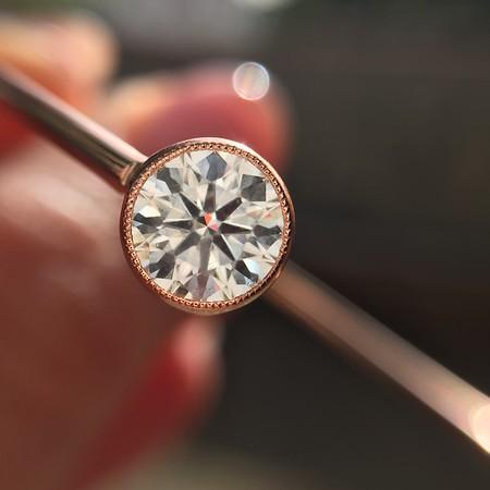 1.51tcw Round Brilliant Diamond Double Bangle