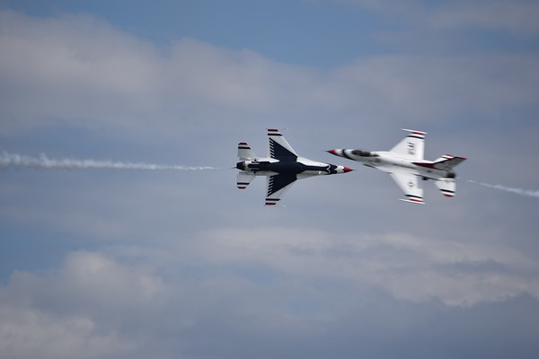 Thunderbirds Jones Beach Practice Show 5-26-17