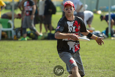 8-6-14 USA Surly v UK Blue Arse Flies Masters Division Tuesday Matchup at WFDF 2014 World Ultimate Club Championships
