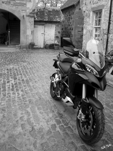 "2010 Black Multistrada 1200S - ""A Load of Old Cobbles"" by 'Technomad' (aka RichardH)