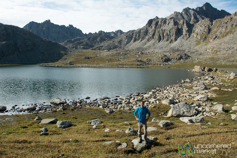 Dan and Alpine Lakes - Jyrgalan Trek, Kyrgyzstan