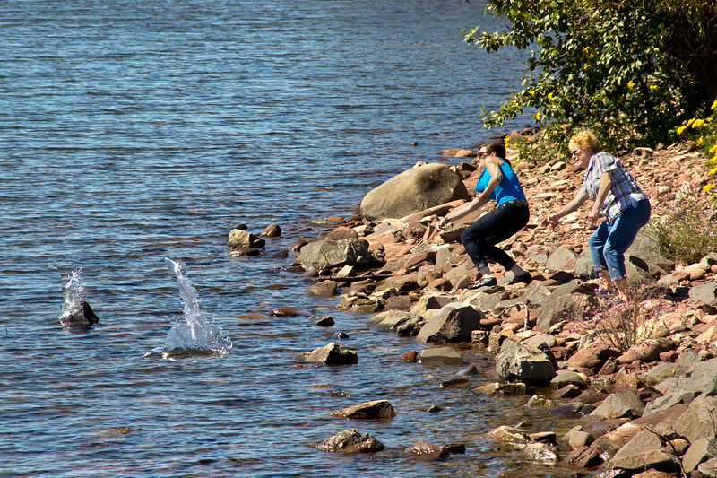 Rock Skipping Championships | Lake Superior