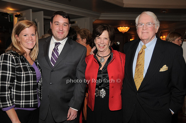 Christine Hogan, John Hogan, Alice Malloy, Jerry Malloy photo by Rob Rich © 2009 robwayne1@aol.com 516-676-3939