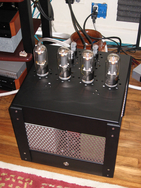 Lee's 211 push-pull monster amp