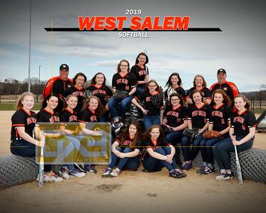 West Salem softball SB19