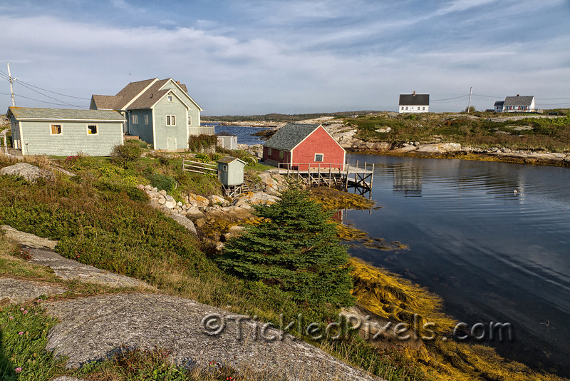 Homes on Peggy's Cove