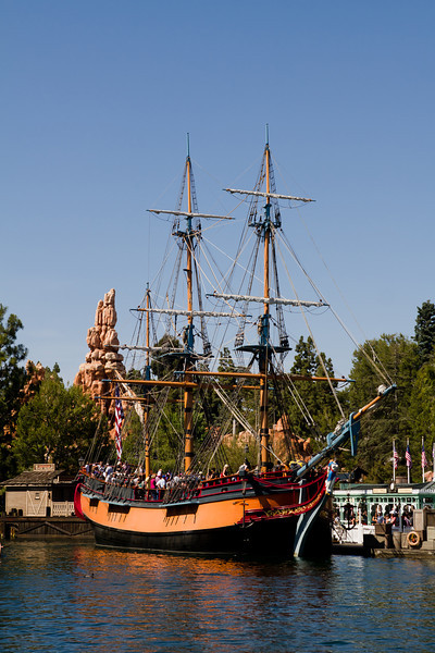 The Sailing Ship Columbia