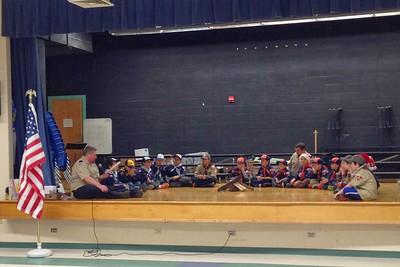 2014 - Winter Scouting Activities