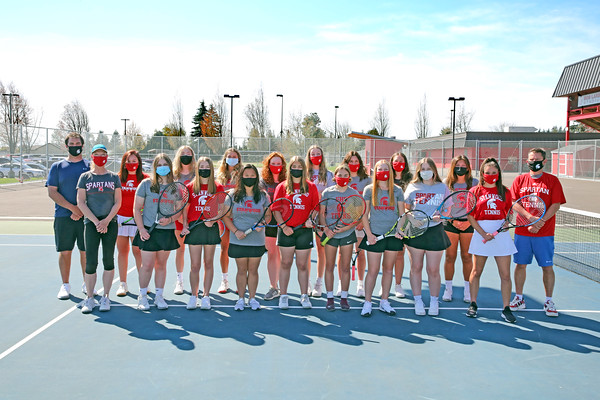 SHS Varsity Girls Tennis 2021