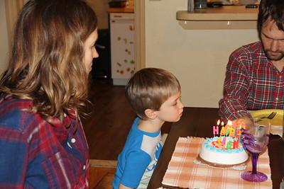 Elliot's 5th Birthday  2/2020