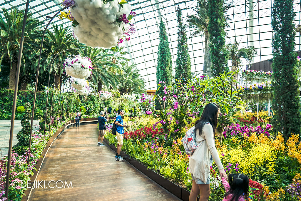 Gardens by the Bay - Orchid Extravaganza 2018 / Flower Field Back Path 2