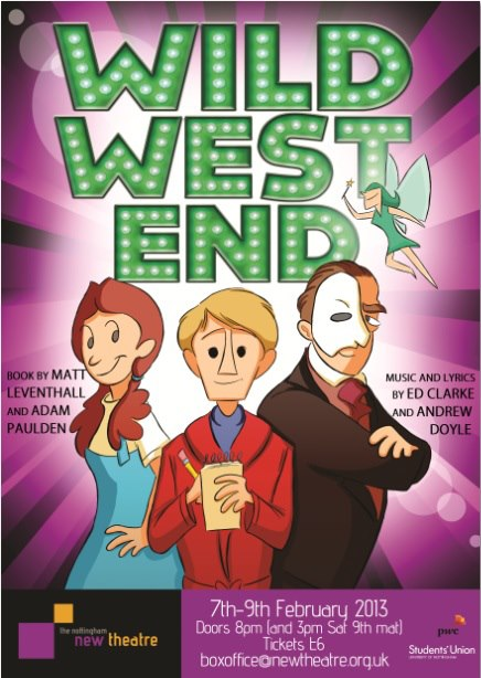 Wild West End poster
