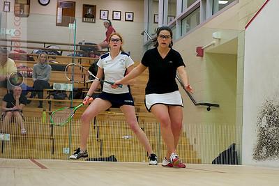 2011-02-18 Jennifer Hearn (St. Lawrence) and Katie O'Mealia (Georgetown)