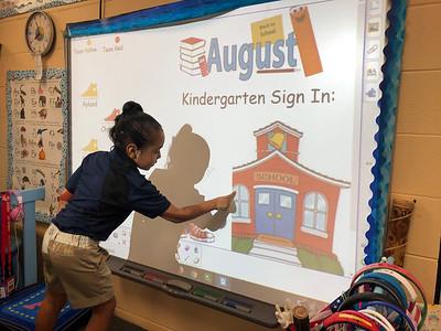 Week 1:  Welcome to Kindergarten