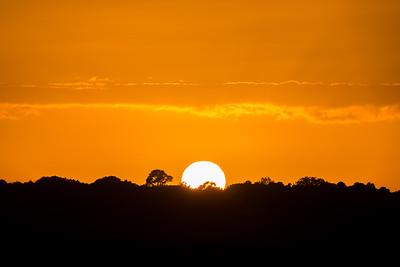 October Sunset/Moonrise