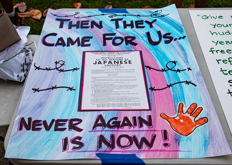 Never Again is Now! - Nikkei Resisters Solidarity Vigil