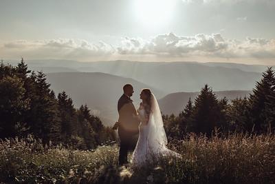 Kayja + Rob WV Mountain Wedding