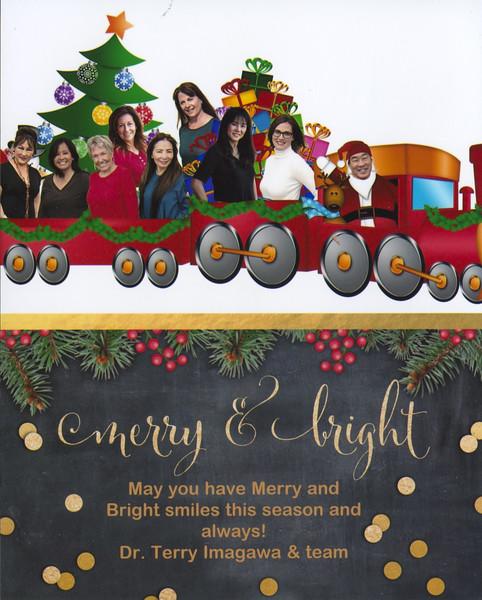 Imagawa Christmas Cards