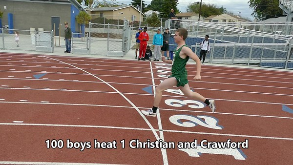 Chistian and Crawford Dual Meet