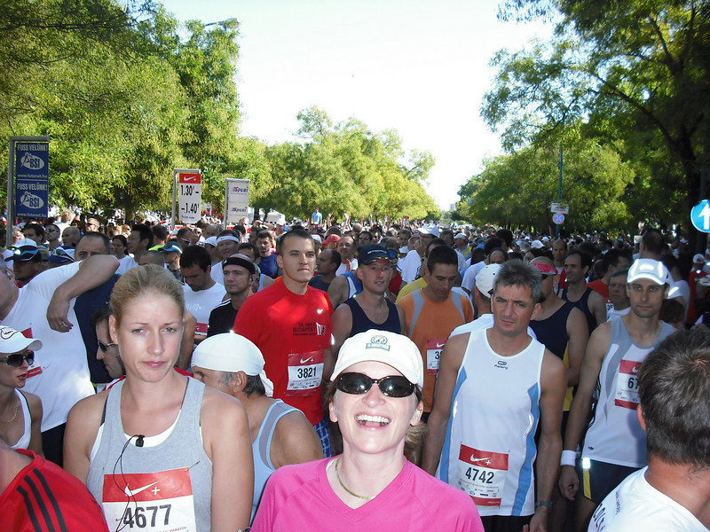 Eight thousand runners!