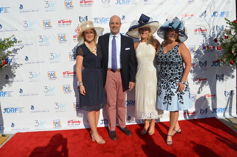 Tammy Stephens (Co-chair) Carol Johnston (Co-chair), Greg Hall, Frisa Hall (Honoree) 2.JPG