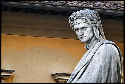 Florence - Santa Croce Dante's Statue