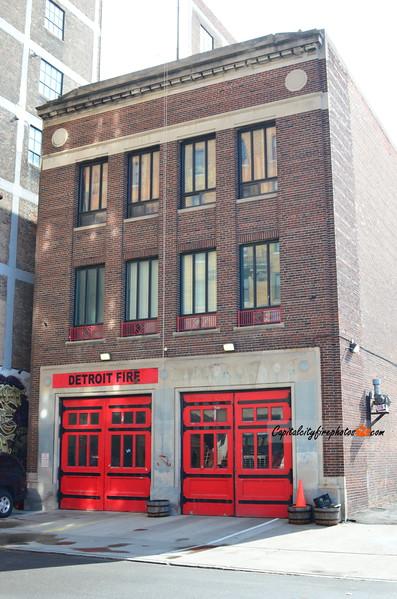 Detroit Engine 1 - 111 W. Montcalm St (Downtown)