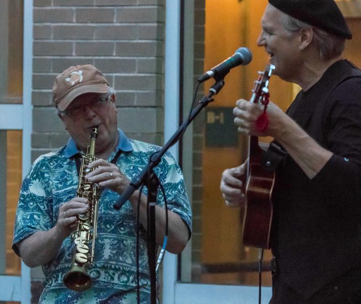 Bruce Abbott and Greg Greenway
