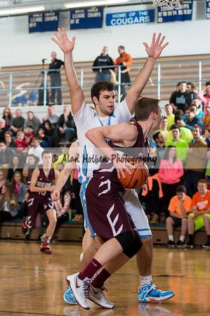 Mens Varsity Basketball - Eaton Rapids at Lansing Catholic