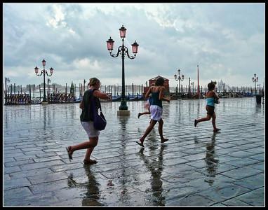 Venezia 2008 - Sotto la pioggia