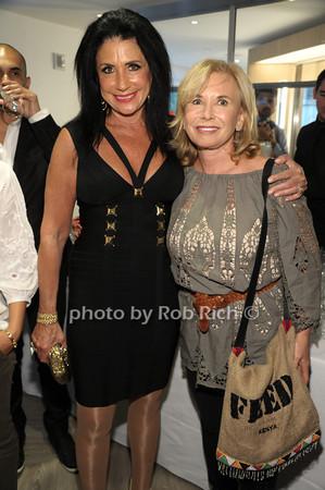 Donna Soloway, Sharon Bush photo by Rob Rich/SocietyAllure.com © 2014 robwayne1@aol.com 516-676-3939