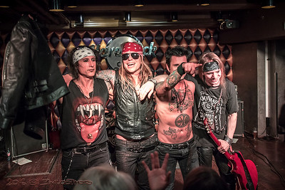 2016.05.15. - Holiday Crüe a Hard Rock Café Budapestben