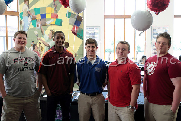 CHCA 2012 HS Athletic Spring Signing 04.27