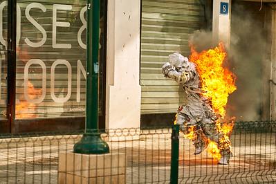 Burning News by Dmitry Dreyer