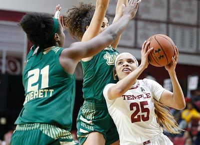 Temple Women's basketball vs USF