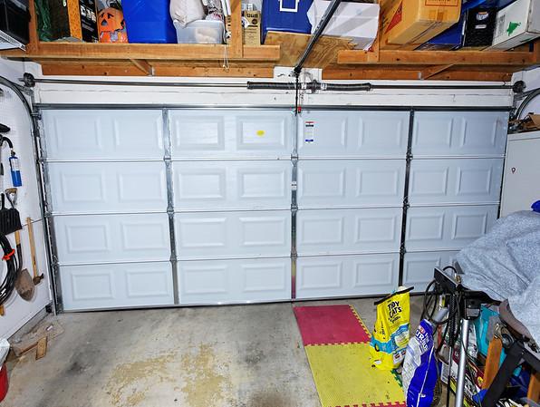 2009 New Garage Door