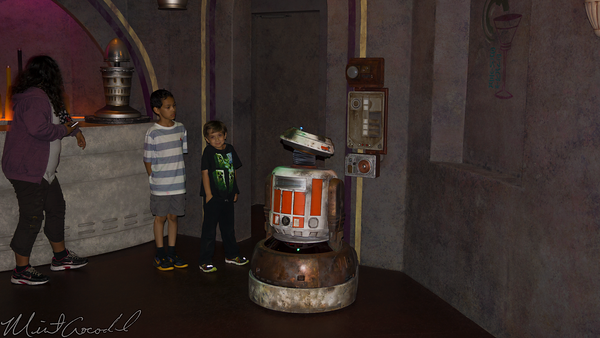 Disneyland Resort, Disneyland, Tomorrowland, Star, Wars, Launch, Bay, Droid, Work, Walt, Disney, Imagineering, WDI