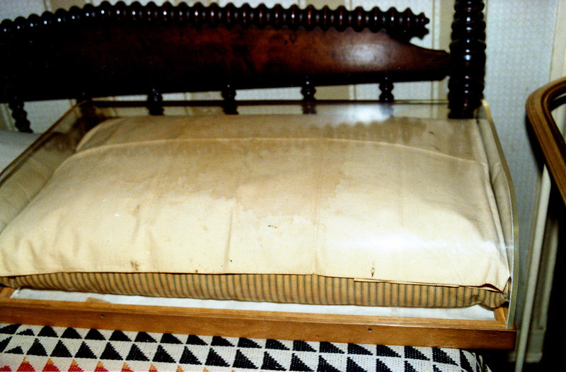 Abraham Lincoln's last pillow
