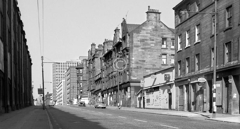 Duke St, north side at Burrell's Lane.    April 1973