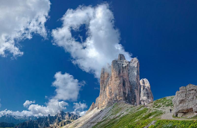 Tre Cime di Lavaredo, nel cuore delle Dolomiti di Sesto   Foto n° 060809-297810