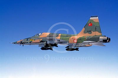 Flying Turkish Air Force Northrop F-5 Freedom Fighter Airplane Pictures