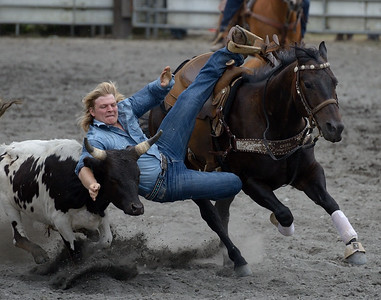 Roping, Steer Wrestling